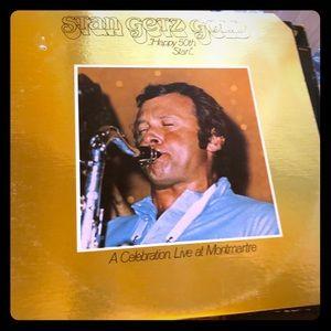 Stan Getz Gold LP Record